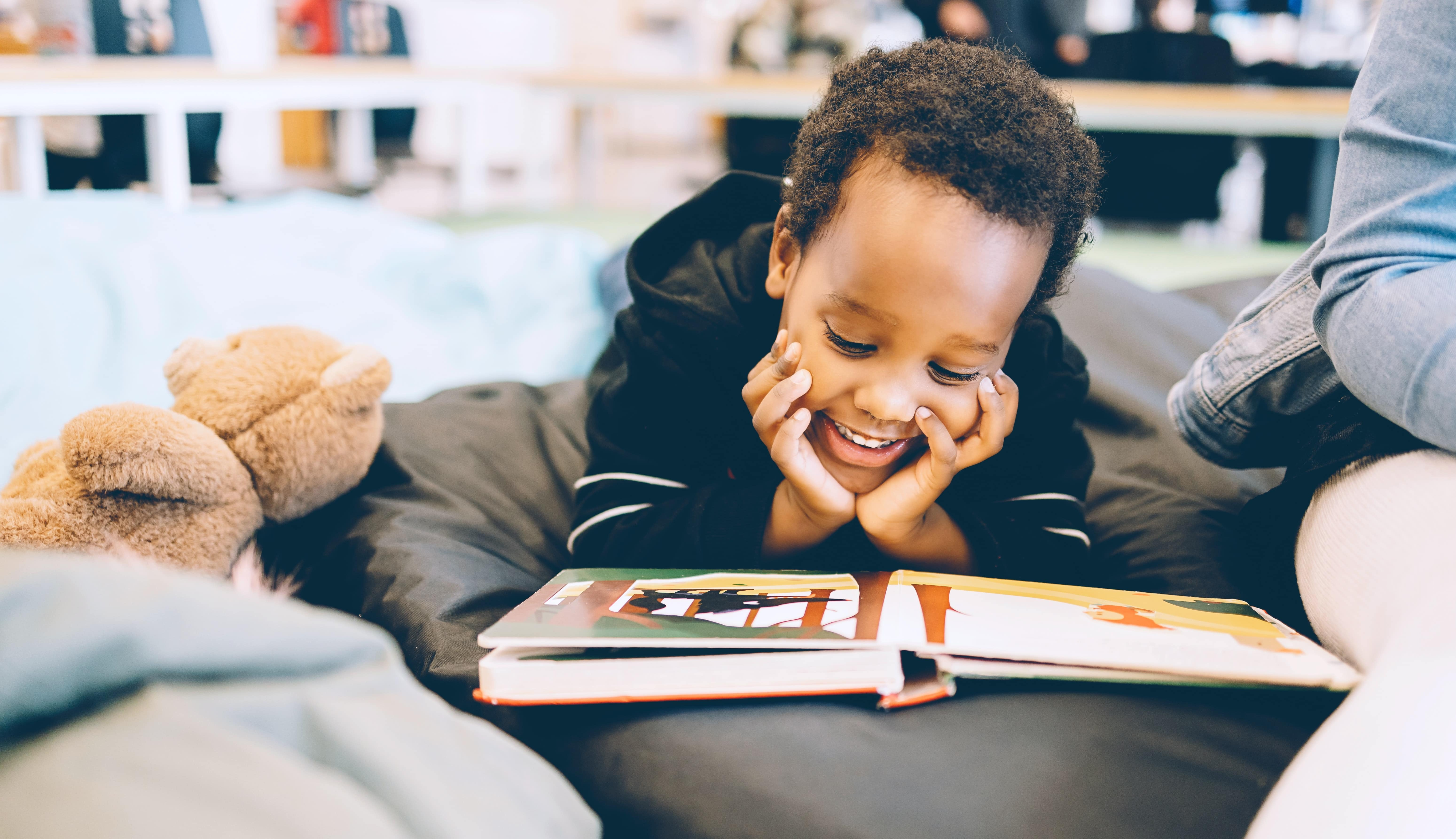 Helping Children Love Books and Reading